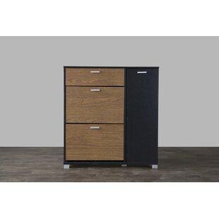 Affordable Cade Shoe Storage Cabinet ByBrayden Studio