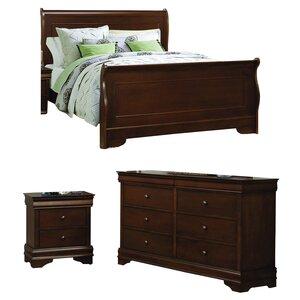 Abbeville Sleigh Configurable Bedroom Set