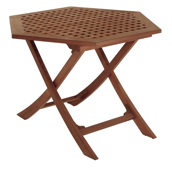Friar Folding Teak Side Table by Whitecap Teak