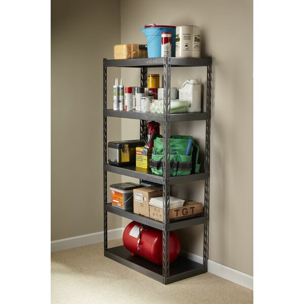 Gladiator® EZ Connect Rack 36 Wide EZ Connect Rack with Five 18 Deep Shelves by Gladiator