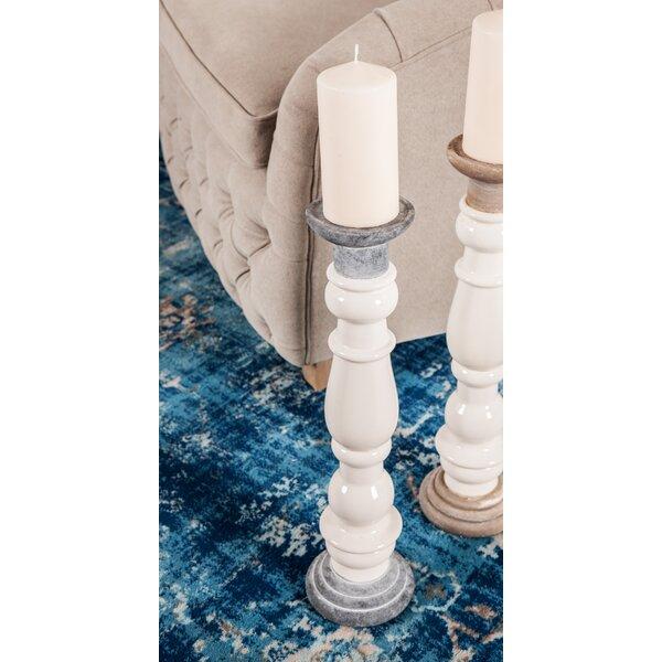 Rustic 2 Piece Ceramic Candlestick Set by Gracie Oaks