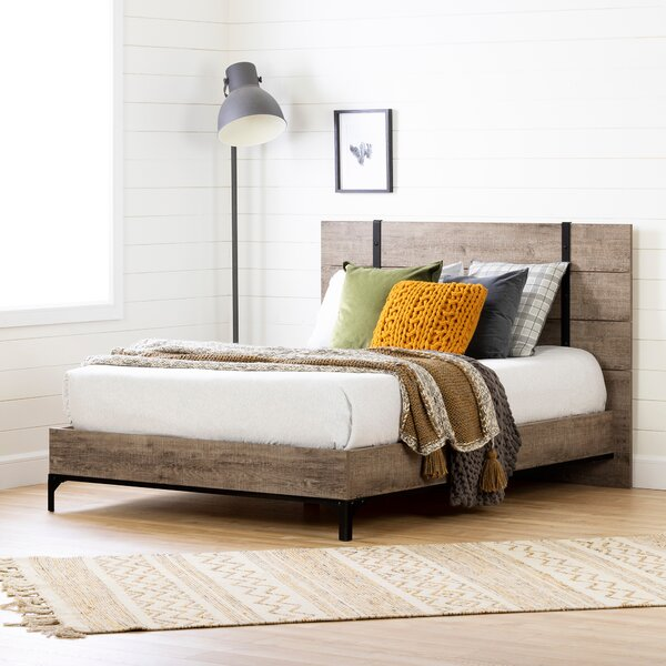 Valet Platform Bed by South Shore