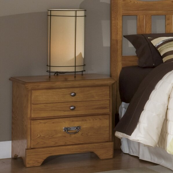 Tottenville 2 Drawer Nightstand by August Grove