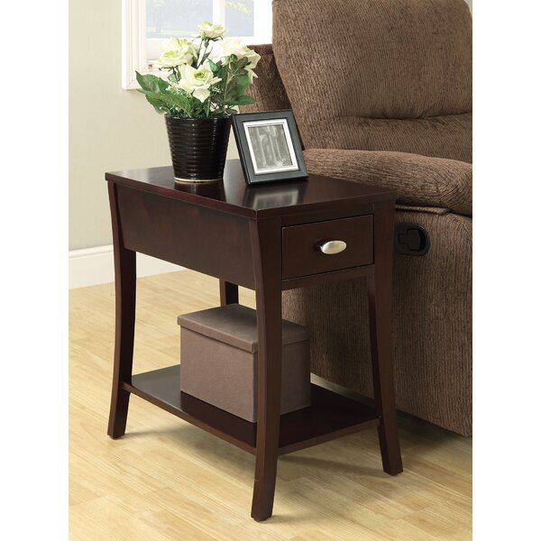 Sutton Place End Table With Storage By Red Barrel Studio
