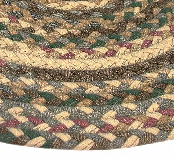 Beacon Hill Tan/Green Area Rug by Thorndike Mills