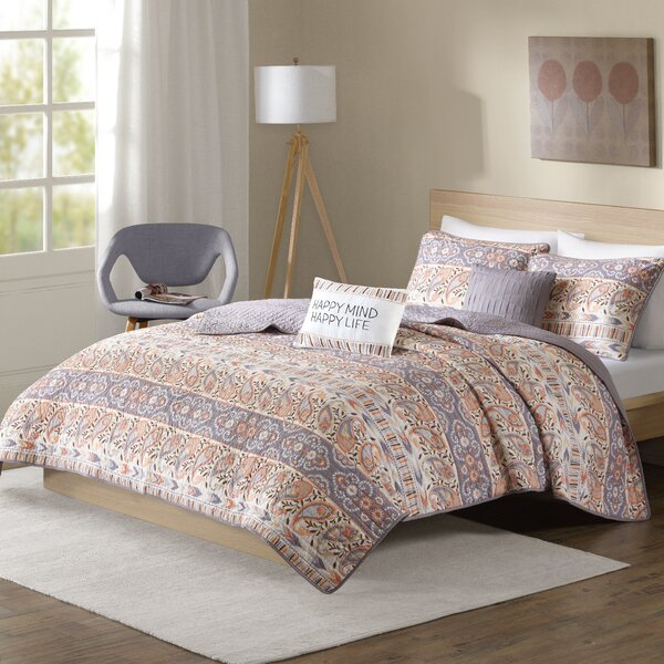 Lucy Reversible Coverlet Set by Mistana