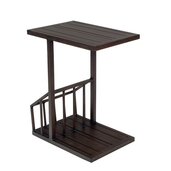 Harmony C Magazine Rack Table by Woodard