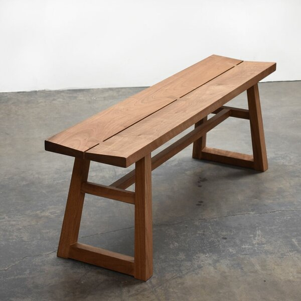 Chelsea Walnut Bench by Gingko Home Furnishings Gingko Home Furnishings