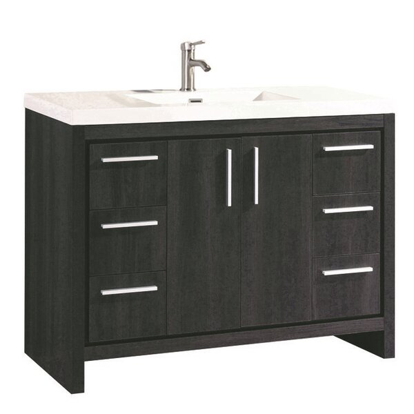 Peiffer Modern 47 Single Bathroom Vanity Set by Orren Ellis