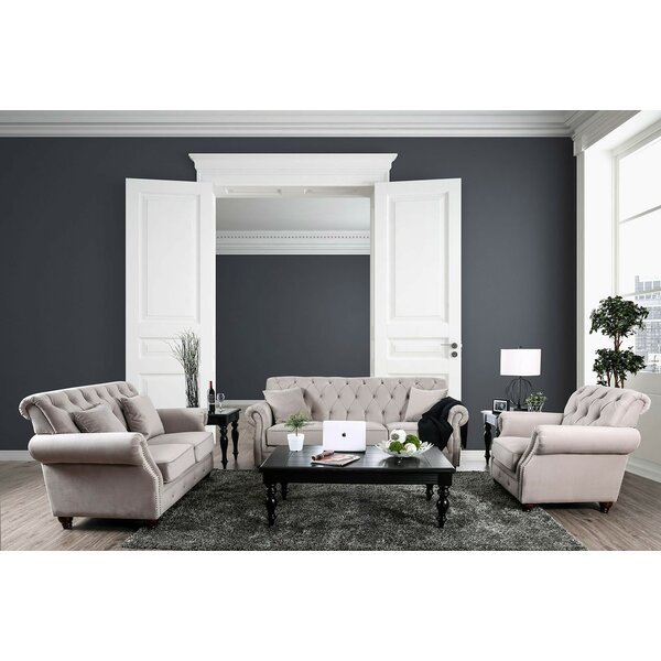 Alexys Modern Victorian Configurable Living Room Set by Rosdorf Park