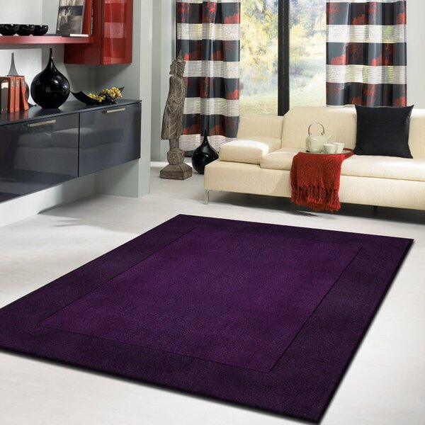 Joffre Hand-Tufted Blue/Violet Area Rug by Darby Home Co