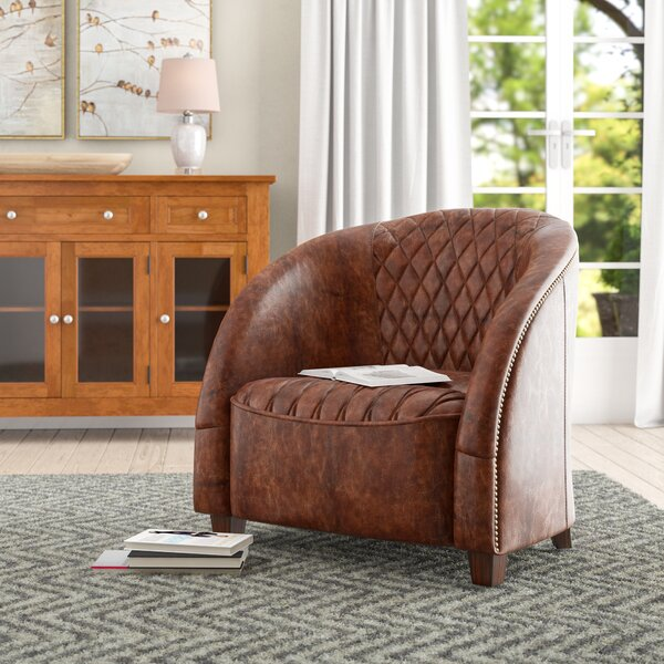 Wilmette Barrel Chair by Darby Home Co