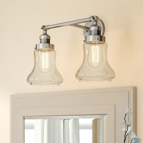 Nardone 2-Light Vanity Light by Beachcrest Home