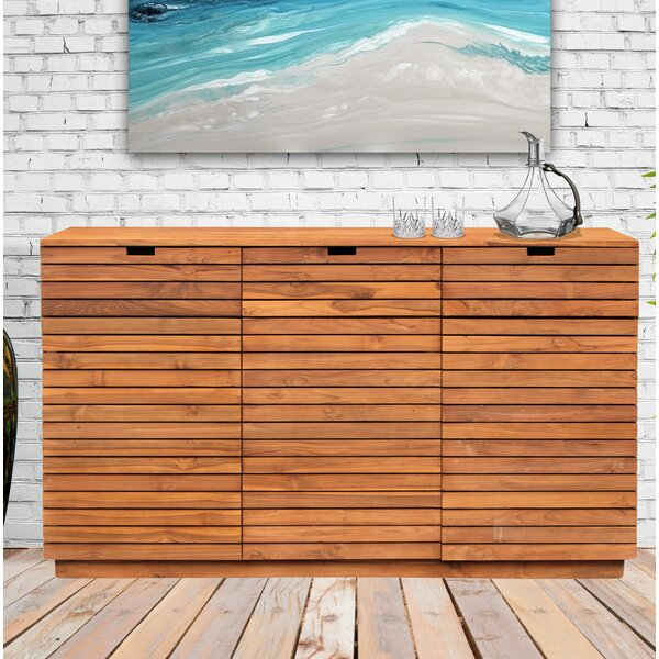 Sharice Recycled Teak 3 Drawer Dresser by Union Rustic