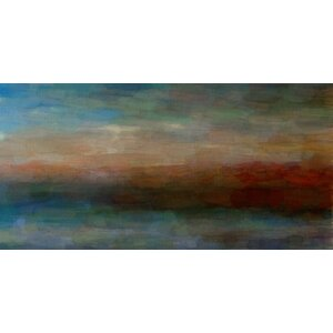 'Abstract Landscape' by Parvez Taj Painting Print on Wrapped Canvas by Trent Austin Design