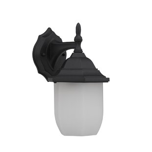 Asherton 1-Light Outdoor Wall Lantern By Charlton Home Outdoor Lighting