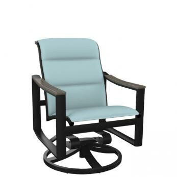Brazo Padded Sling Swivel Rocking Chair by Tropitone