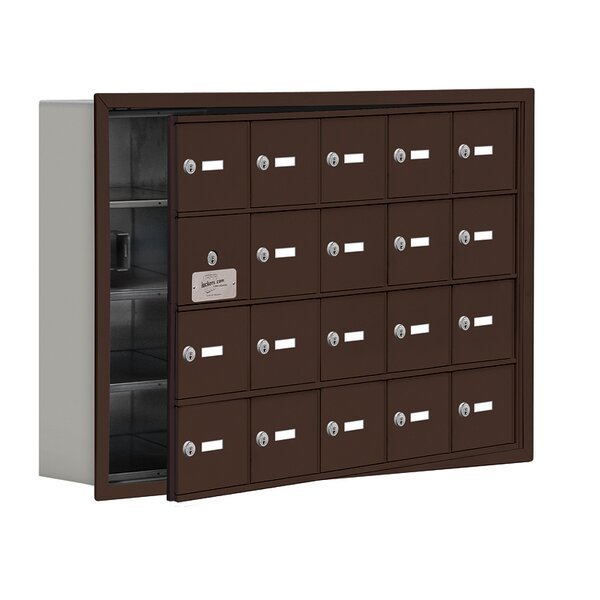 4 Tier 5 Wide EmpLoyee Locker by Salsbury Industries