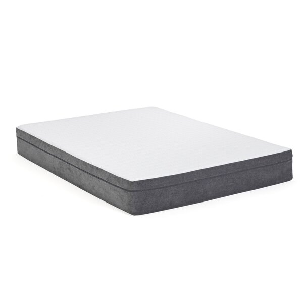10 Plush Memory Foam Mattress by Alwyn Home