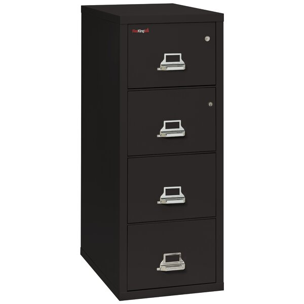 FireKing Legal Safe In A File Fireproof 4 Drawer Vertical File Cabinet U0026  Reviews | Wayfair