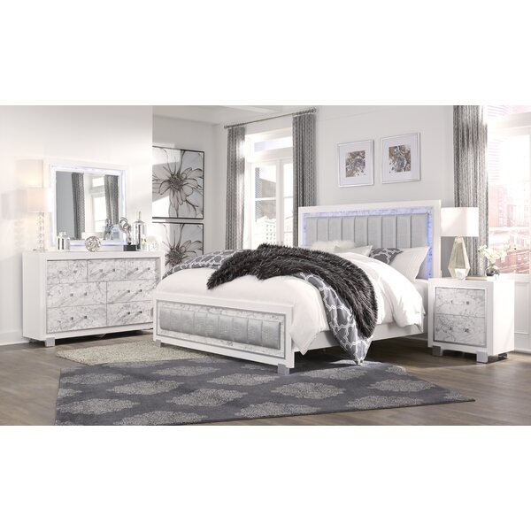 Faria Standard Configurable Bedroom Set by Everly Quinn