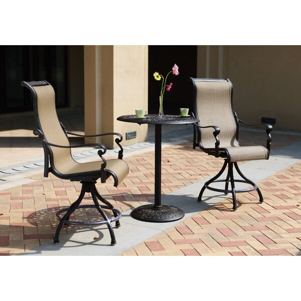 Bagwell 3 piece 2 Person Seating Group by Darby Home Co