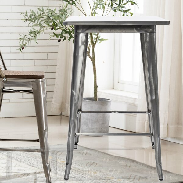 Amir Steel Bar Table By Williston Forge