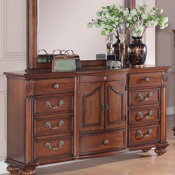 Leigh 9 Drawer Dresser by Fleur De Lis Living