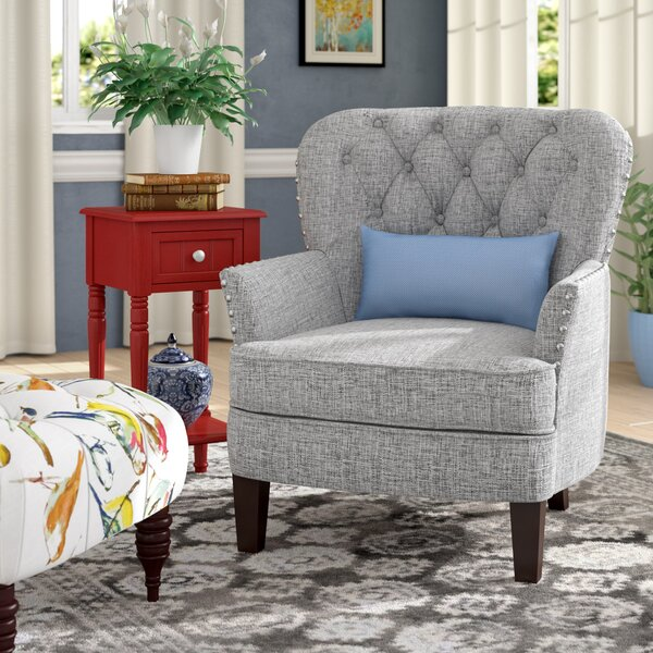 Randles Button Tufted Armchair by Alcott Hill