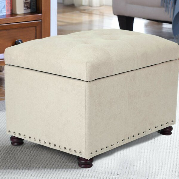 Milana Classy Accent Tufted Storage Ottoman By Charlton Home