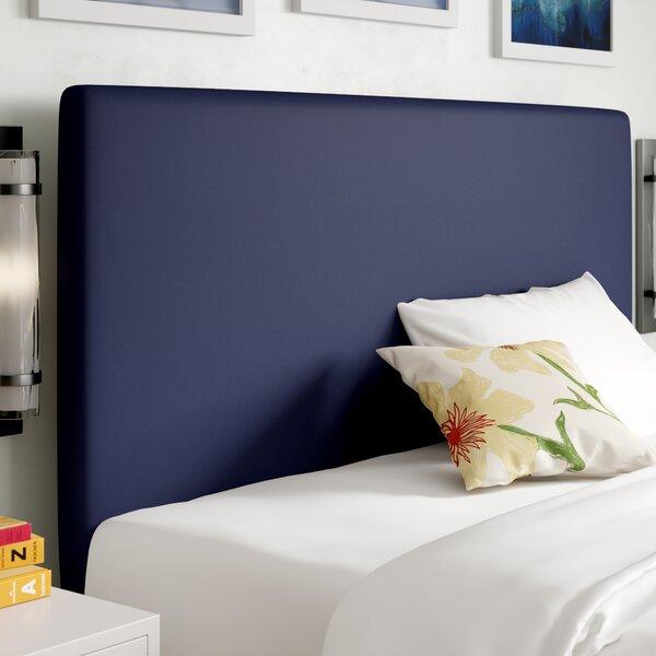 Launcest Slipcover Upholstered Panel Headboard by Brayden Studio