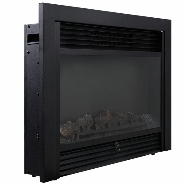 Philipa Embedded Electric Fireplace Insert By Latitude Run