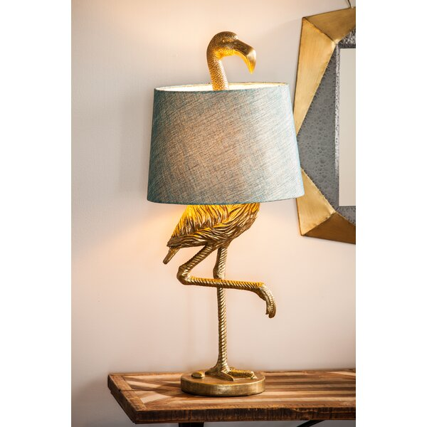 Fairlee Flamingo 31.89 Table Lamp by Bay Isle Home