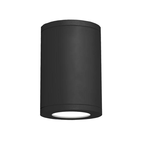Tube 1-Light Flush Mount by WAC Lighting