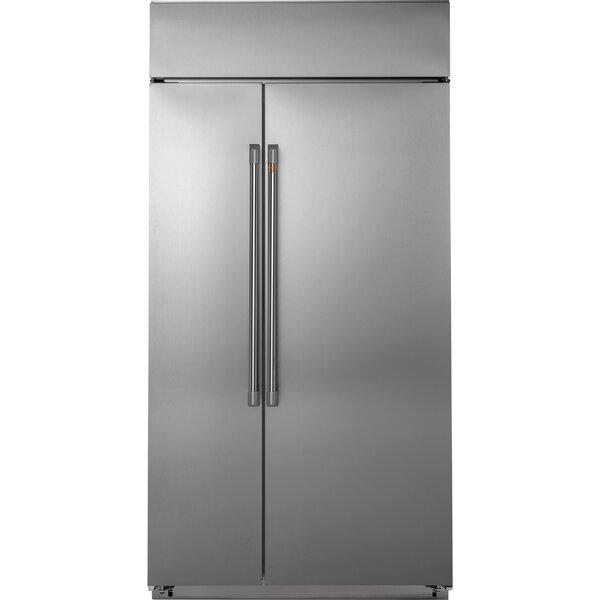 29 Counter Depth Side-by-Side 25.2 cu. ft. Smart Refrigerator