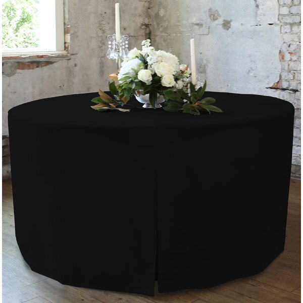 48 W Fitted Round Tablecover by Tablevogue
