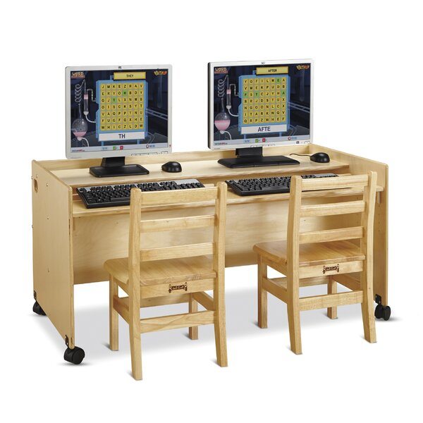 Enterprise Wood 24 Student Computer Desk by Jonti-Craft
