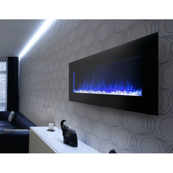 Streamline Wall Mounted Electric Fireplace by Cova Lighting Cova Lighting