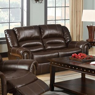 Stibal Bonded Reclining Loveseat