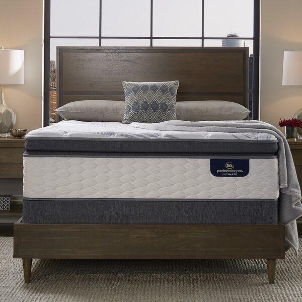 Perfect Sleeper 14 Plush Pillow Top Mattress and Adjustable Base by Serta