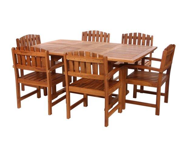 Humphrey 7 Piece Teak Dining Set