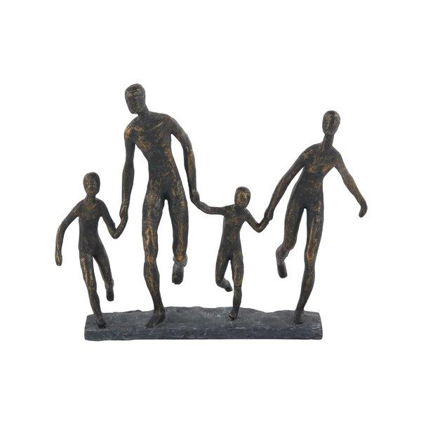 Olga Rustic Running Family Figurine by Latitude Run