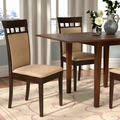 zora cushion back side chair set of 2 - Dining Room