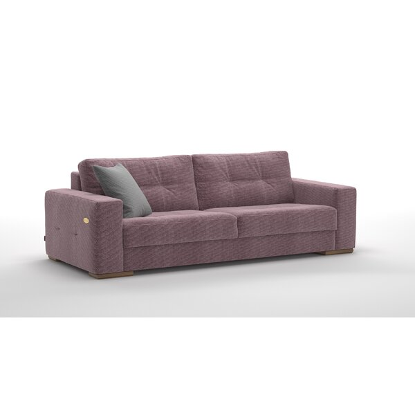 Review Critchlow Leather Loveseat