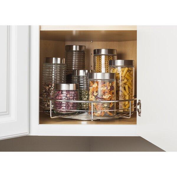 Single Shelf Lazy Susan 18 x 18 Corner Cabinet by Hardware Resources