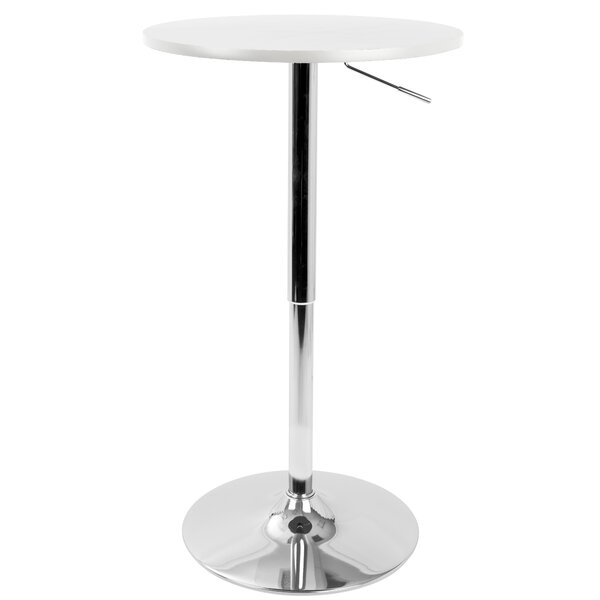 Coveney Adjustable Pub Table by Ebern Designs