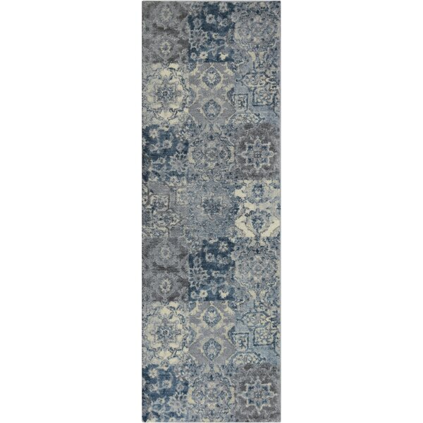 Marshawn Navy Area Rug by Ophelia & Co.