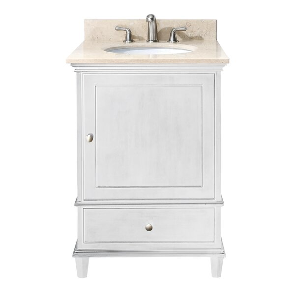 Shrewsbury 25 Single Bathroom Vanity Set by Andover Mills