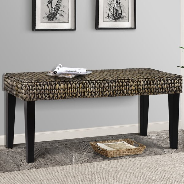 Nobles Wood Hallway Bench by Beachcrest Home