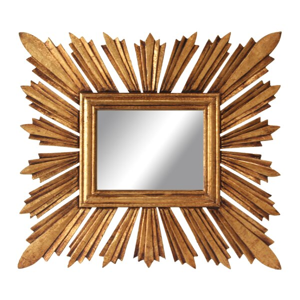Englishcombe Sunburst Accent Mirror by Charlton Home